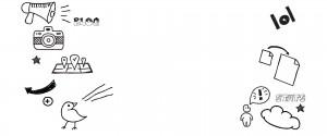 website design doodling