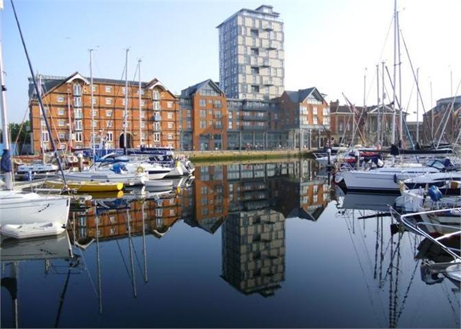 the water front at ipswich