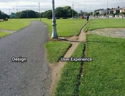 user experience example