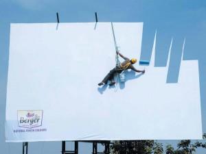 good real life billboard ad