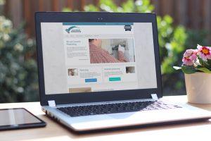 lucock-plastering example website design